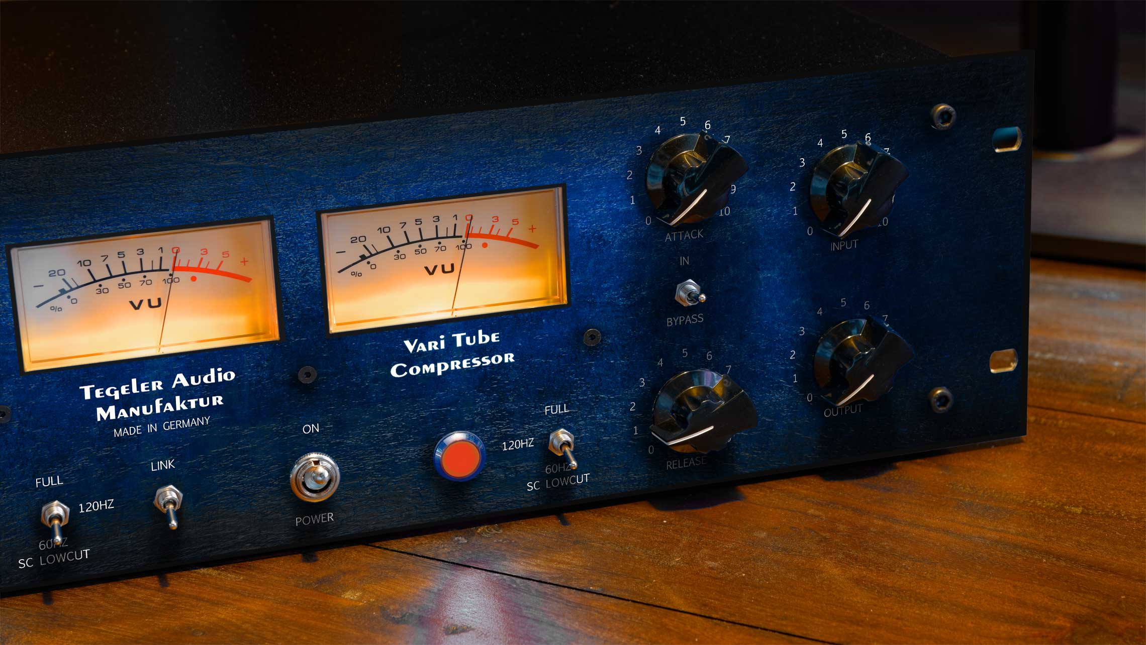 Vari Tube Compressor VTC – Mastering and Bus Compressor