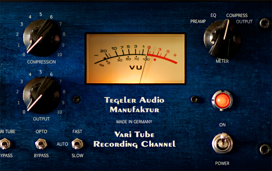 Vari Tube Recording Channel VTRC – Channel Strip